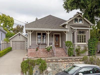 LOS GATOS Single Family Home For Sale: 213 Edelen Ave
