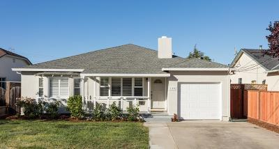 SAN MATEO Single Family Home For Sale: 105 Powell St