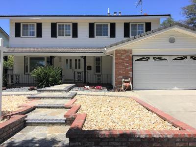 San Jose Single Family Home For Sale: 2943 Cortina Dr