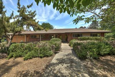 SAN JOSE CA Single Family Home For Sale: $1,650,000