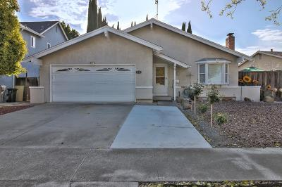 SAN JOSE CA Single Family Home For Sale: $849,900