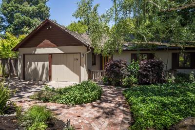 Palo Alto Single Family Home For Sale: 766 Garland Dr
