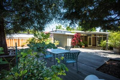 Palo Alto Single Family Home For Sale: 3212 Waverley St