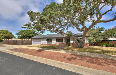 Pacific Grove Single Family Home Contingent: 1044 Morse Dr