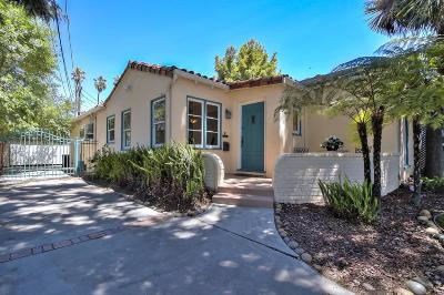 San Jose Single Family Home For Sale: 824 Riverside Dr