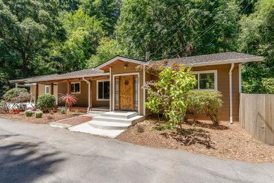 Santa Cruz Single Family Home For Sale: 1681 River St