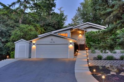 LOS GATOS Single Family Home For Sale: 18170 Goebel Ct