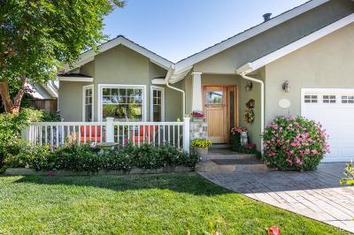 Sunnyvale Single Family Home Contingent: 1087 Noriega Ave
