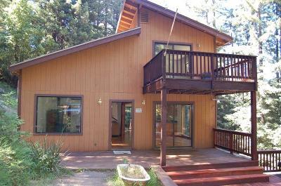 BOULDER CREEK Single Family Home For Sale: 12040 Deer Creek Rd