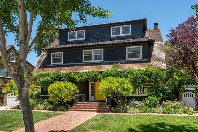 Palo Alto Single Family Home For Sale: 1115 Ramona St