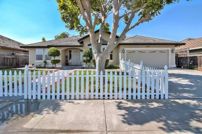 HOLLISTER CA Single Family Home For Sale: $548,500