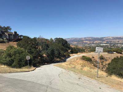 MORGAN HILL Residential Lots & Land For Sale: 0 Castle Hill Dr