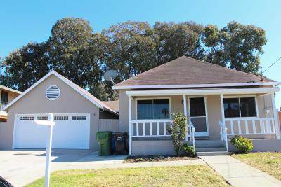 SANTA CLARA Single Family Home For Sale: 1900 Chestnut St