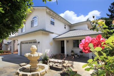 SCOTTS VALLEY Single Family Home For Sale: 4 Dana Ct