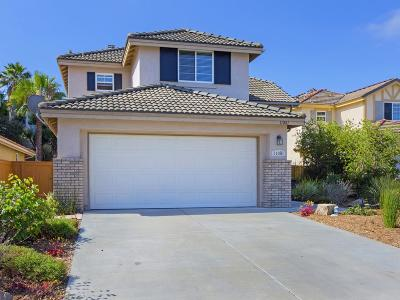 San Diego County Single Family Home Contingent: 11081 Melton Ct