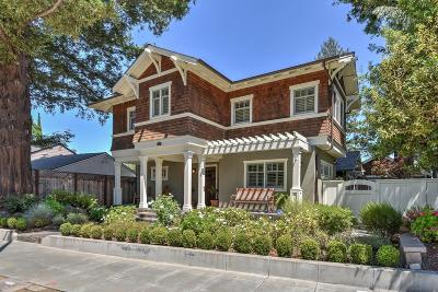 LOS GATOS Single Family Home For Sale: 112 Wilder Ave