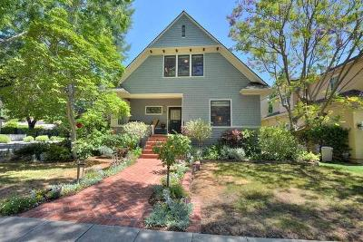 Palo Alto Single Family Home For Sale: 151 Cowper Street St