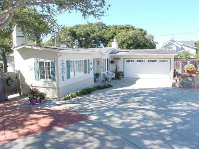 Pacific Grove Single Family Home For Sale: 902 Hillcrest Ct