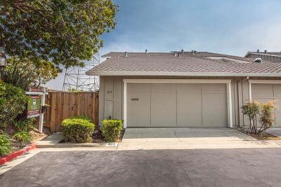 FOSTER CITY Townhouse For Sale: 814 Byrd Ln