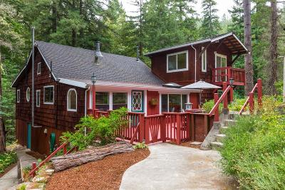 Ben Lomond Single Family Home For Sale: 181 Hubbard Gulch Rd