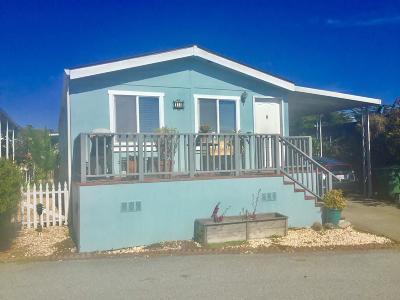 Half Moon Bay Mobile Home For Sale: 14 Sea Shell Cir 14
