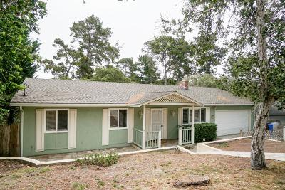 Monterey Single Family Home For Sale: 455 San Bernabe Dr
