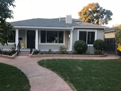 Redwood City Single Family Home For Sale: 3335 Spring St