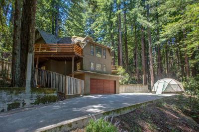 Woodside Single Family Home For Sale: 1089 Tunitas Creek Rd