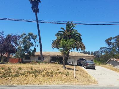 SALINAS Single Family Home For Sale: 18121 Pesante Rd