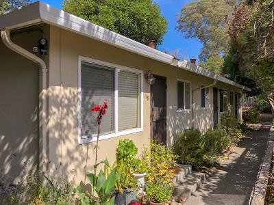 Santa Cruz Multi Family Home For Sale: 118 Beulah Ct