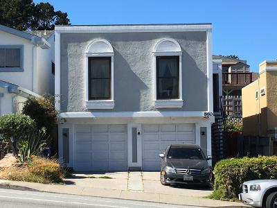 DALY CITY CA Single Family Home For Sale: $1,280,000