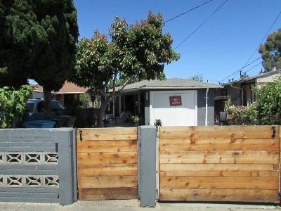 REDWOOD CITY Single Family Home For Sale: 213 Dumbarton Ave
