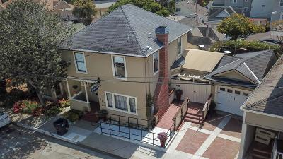 Pacific Grove Single Family Home For Sale: 157 15th St