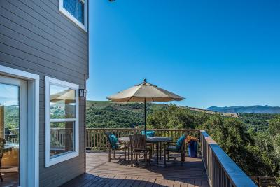 Carmel Valley Single Family Home For Sale: 11530 Hidden Hills Rd