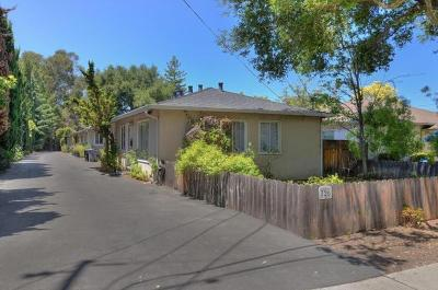 Santa Clara County Multi Family Home For Sale: 726 Mariposa