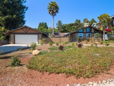Aptos, Soquel Single Family Home For Sale: 505 Cuesta Dr