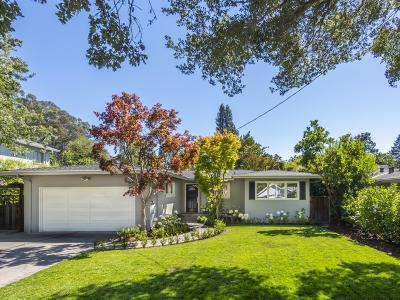 REDWOOD CITY Single Family Home For Sale: Buena Vista Ave