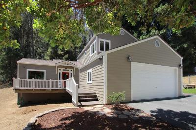 Santa Cruz County Single Family Home For Sale: 213 Gillette Rd