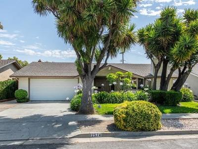 SAN JOSE Single Family Home For Sale: 2574 Fairglen Dr