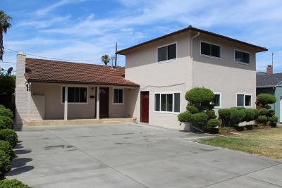 SAN JOSE Single Family Home For Sale: 1373 Santa Paula Ave