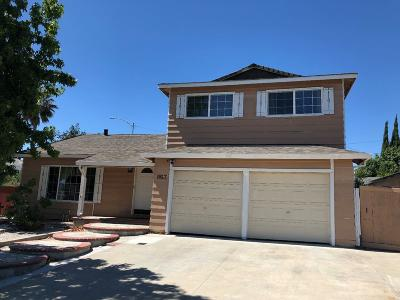 MILPITAS Single Family Home For Sale: 863 Nieves St