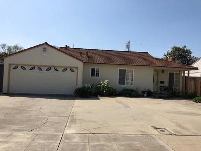 SANTA CLARA CA Single Family Home For Sale: $1,838,888
