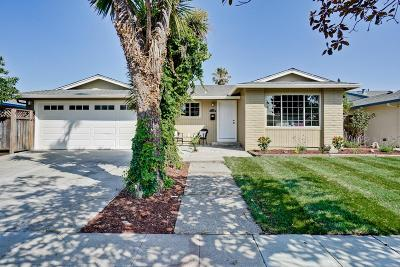 SAN JOSE CA Single Family Home For Sale: $875,000