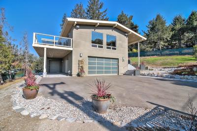 Santa Cruz County Single Family Home For Sale: 477 Sims Rd
