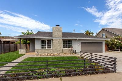 Single Family Home For Sale: 1761 Meridian Ave