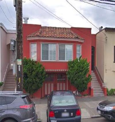 SAN FRANCISCO Single Family Home For Sale: 1531 46th Ave