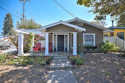 SANTA CRUZ Single Family Home For Sale: 1111 King St