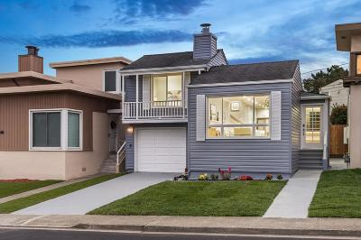 DALY CITY CA Single Family Home For Sale: $899,000