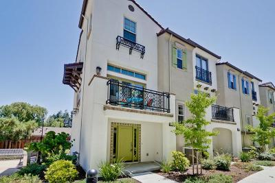 Mountain View Townhouse For Sale: 727 Reflection Way