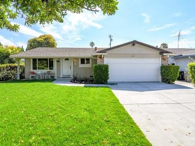 SAN JOSE CA Single Family Home For Sale: $1,100,000